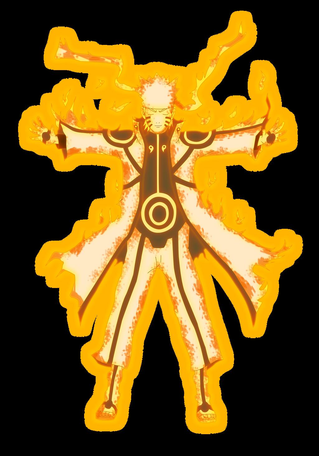 Naruto Bijuu Mode Render By Lwisf3rxd On DeviantART