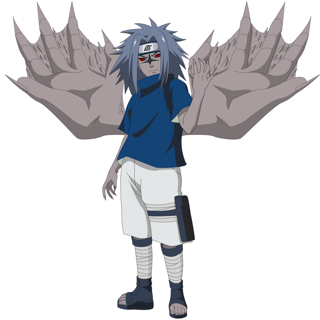 sasuke hebi 5 sasuke kirin 6 sasuke curse mark