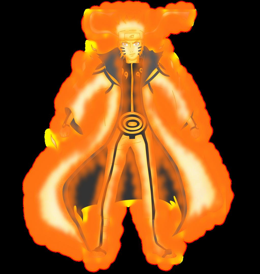 Naruto Rikudou Senin Mode + Llamas Render by lwisf3rxd on DeviantArt