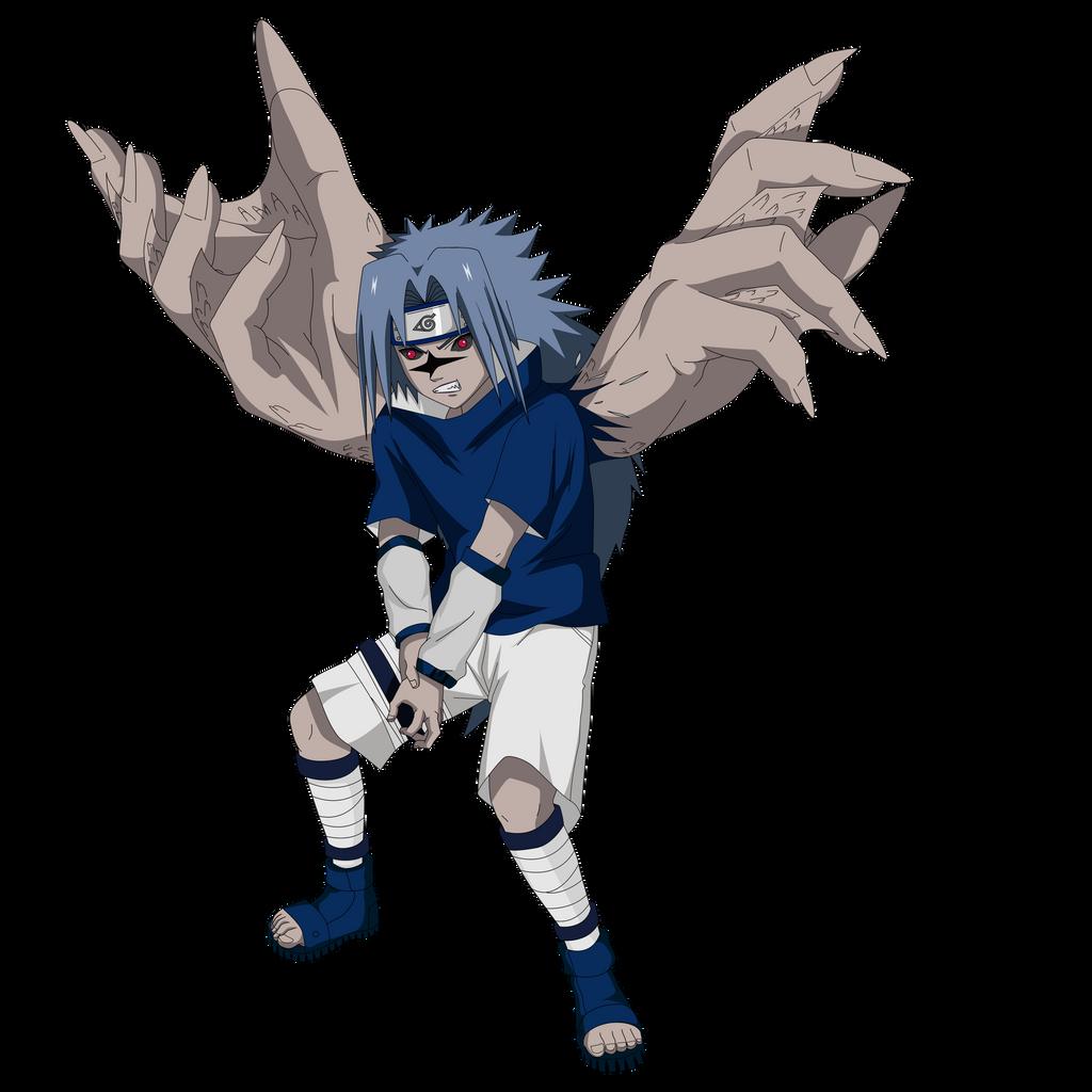 Sasuke Curse Seal 2 Render by lwisf3rxd on DeviantArt