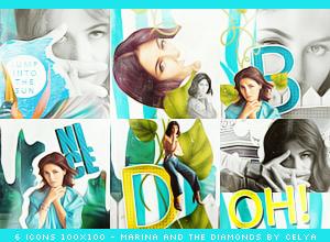 Marina icons 100x100 by Celiuska