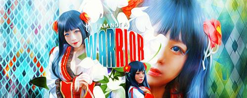 I amm not a warrior by Celiuska