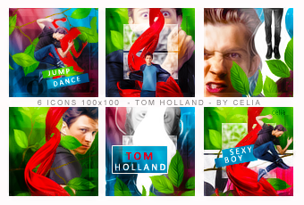 Tom Holland icons by Celiuska