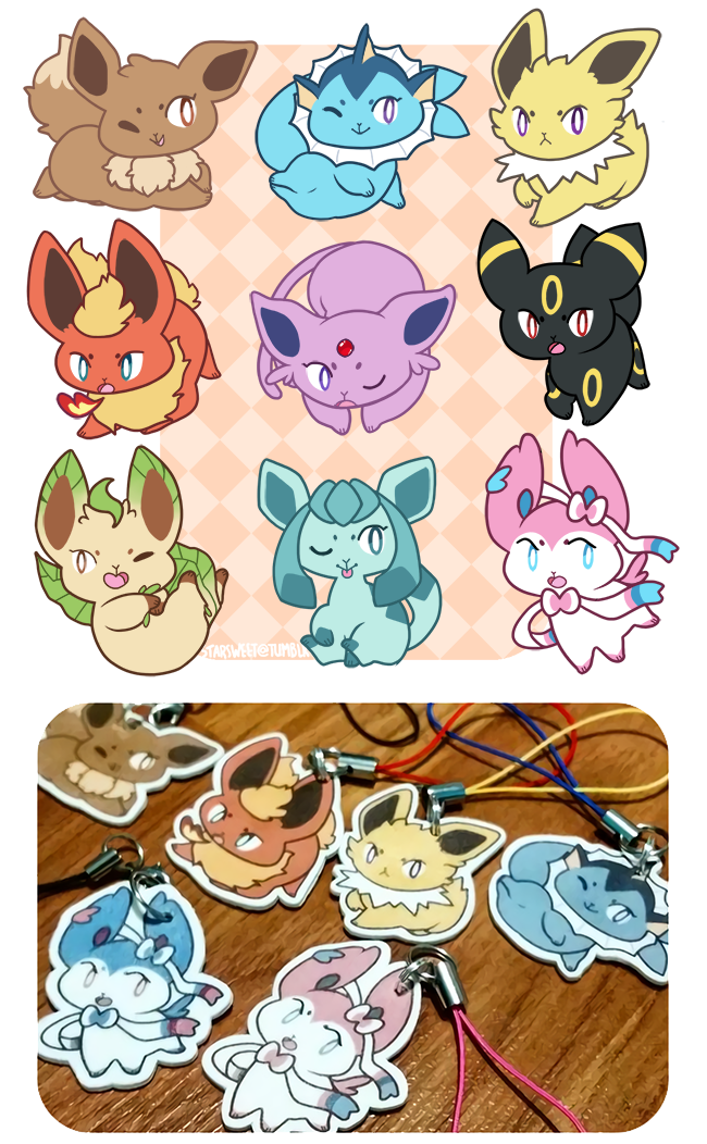 VEE! charms by Kuitsumi
