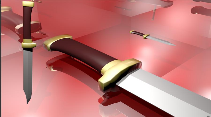 ryougi shiki weapons knife - photo #1
