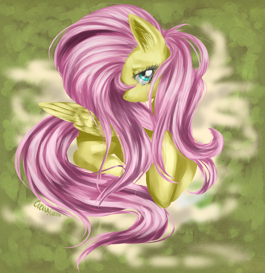 Yet another Fluttershy by QuennyQueen