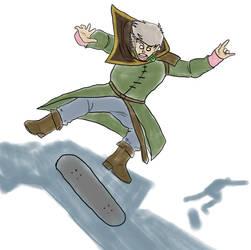 Skate destroyer by SaunteringStorms