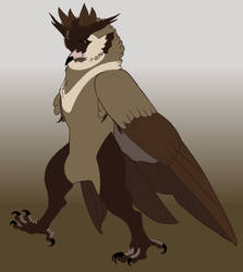 Dosker, one little bird man. by SaunteringStorms