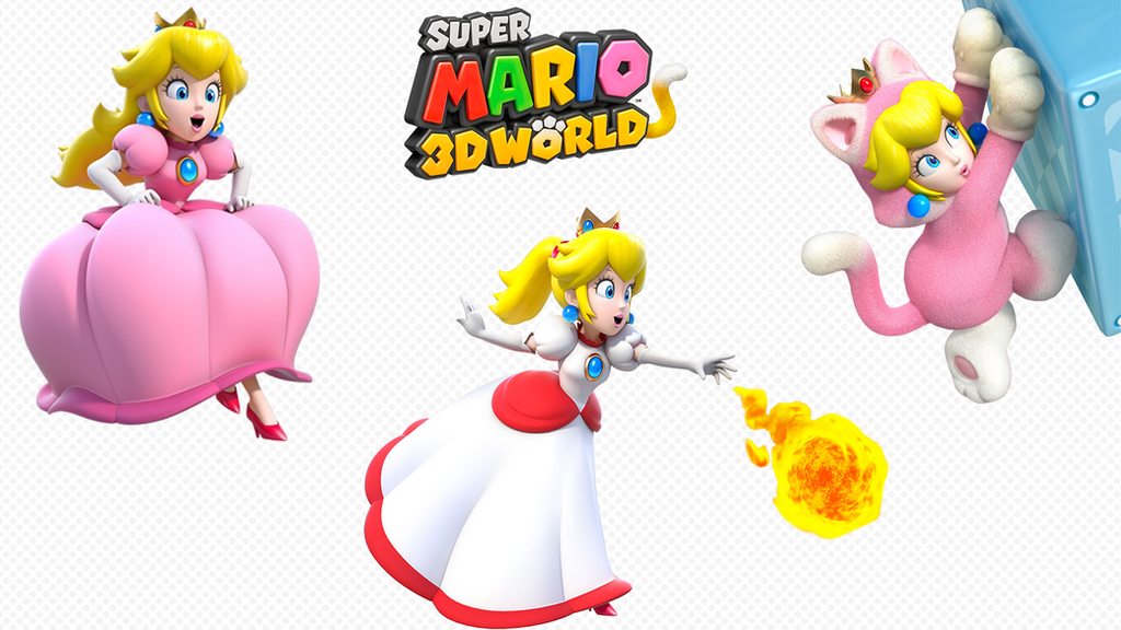Super Mario 3D World Peach Wallpaper by Yoshi9288 on ...