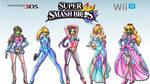 She Masked Beauties of Smash Bros. Wallpaper