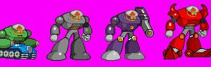 Dark Man series (MvC style) by Magma-Dragoon-MK-II