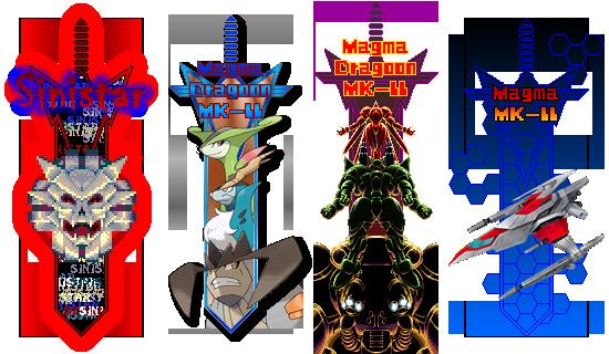IMT Forum sword avatars by Magma-Dragoon-MK-II