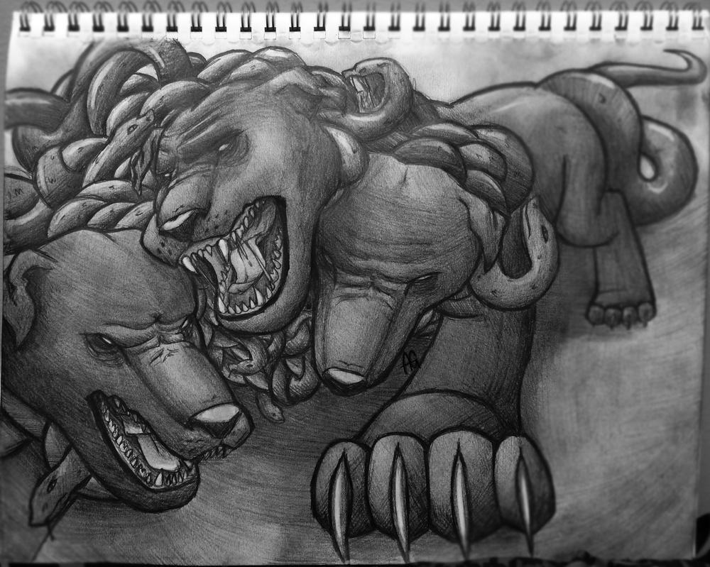 Cerberus by ANDILION5356
