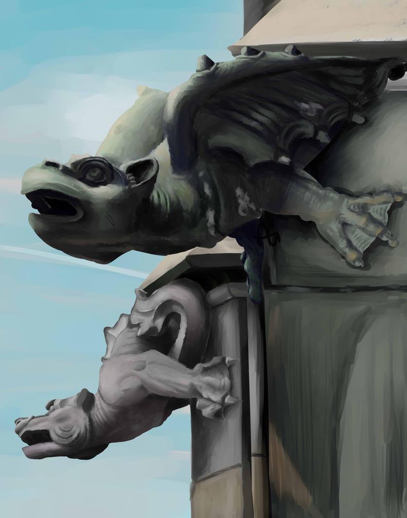 Gargoyle by ANDILION5356