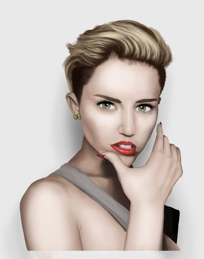 Miley Cyrus by ANDILION5356