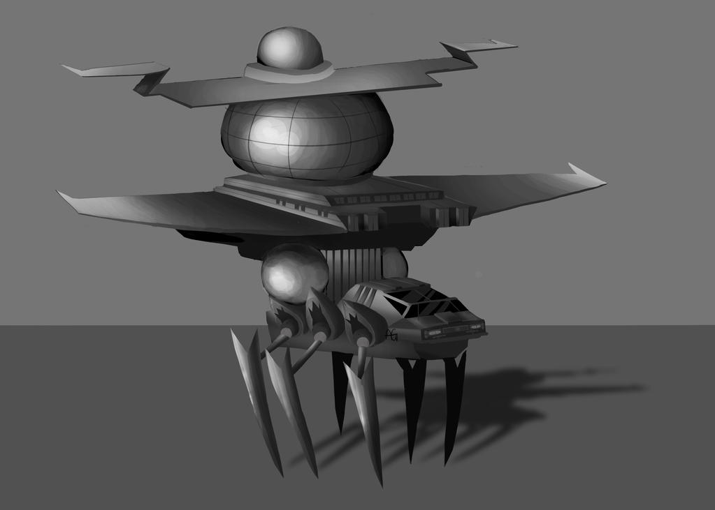 Spaceship by ANDILION5356