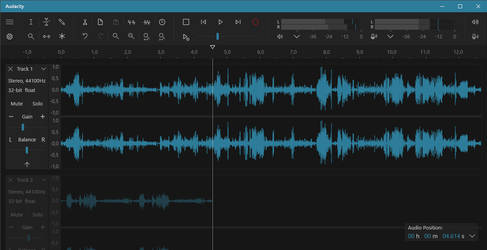 Audacity for Windows 10 Concept by higorsm25
