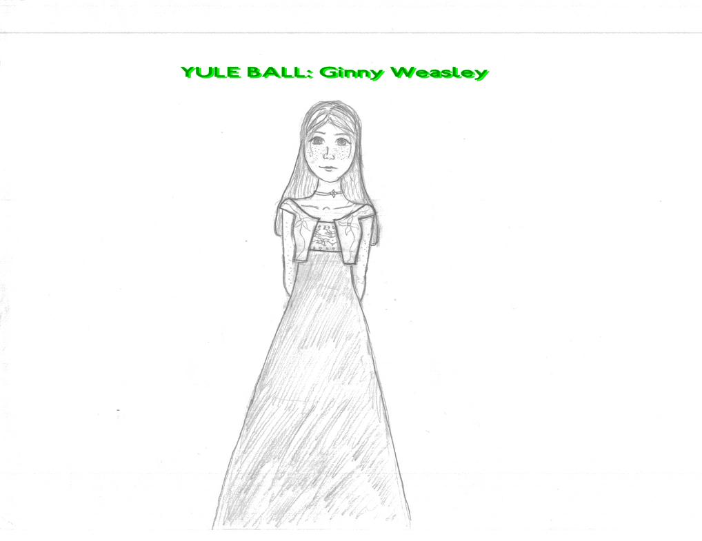 Ginny Weasley Yule Ball Yule Ball Ginny Weasley by