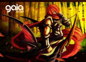 Gaia Online - Ninja by Wenart