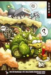 Cute Boss Battle by Wenart