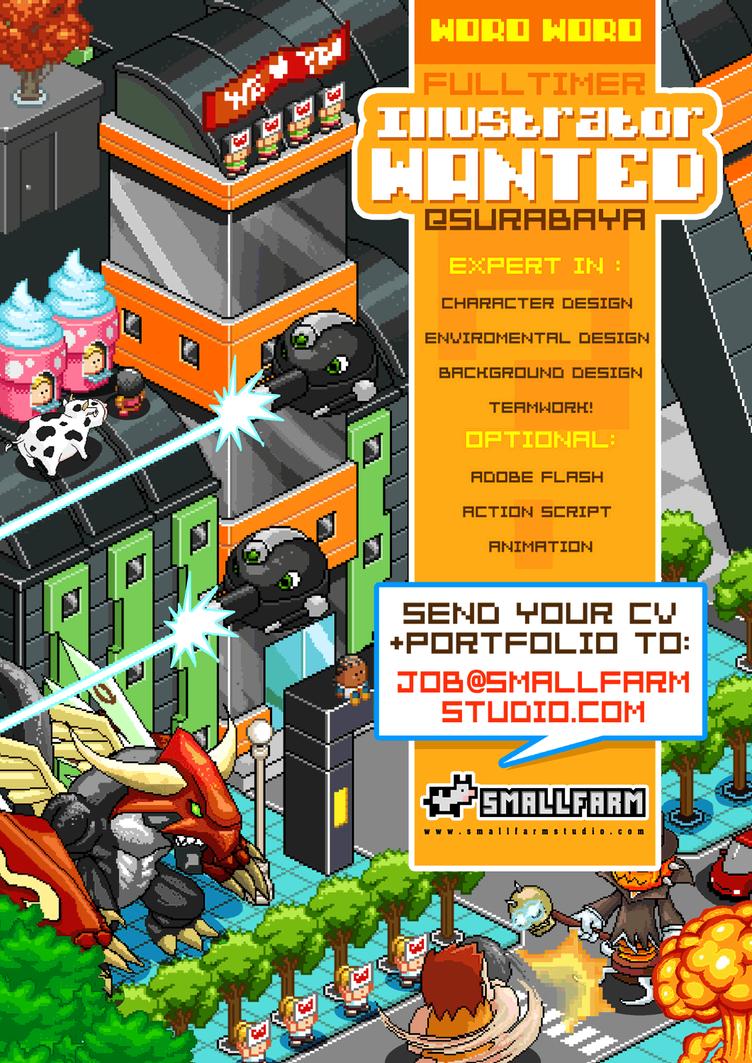 Poster design job description - Job Vacancy Poster Design