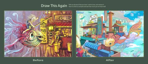 Draw This Again: Rathea FIsh