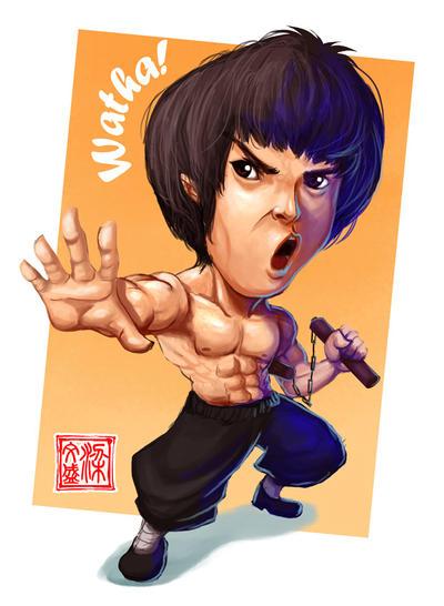 Bruce Lee by Wenart