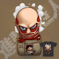 Pocket Shingeki No Kyojin by Wenart