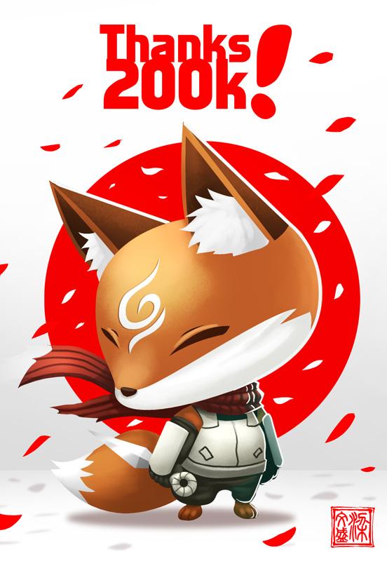 Thanks 200K! by Wenart