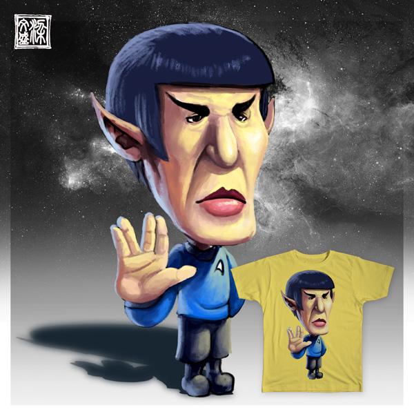 live long and prosper by Wenart