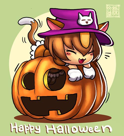 Jemil Kingdom: Happy Halloween by Wenart