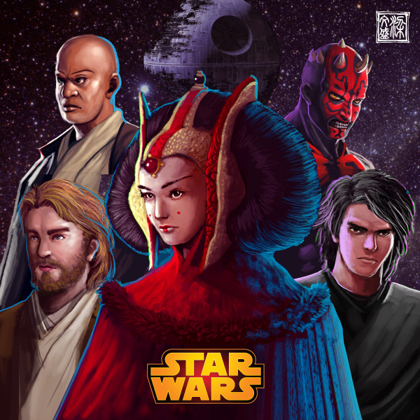 Star  Wars by Wenart