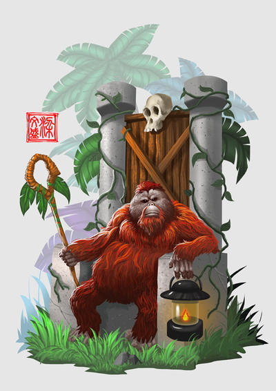 Jungle ruler by Wenart