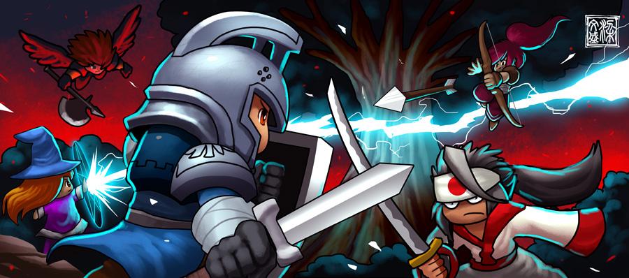 Intense battle by Wenart