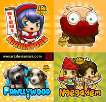 Mascot commision collection :) by Wenart