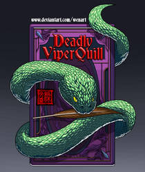 Deadly Viper Quill Logo by Wenart
