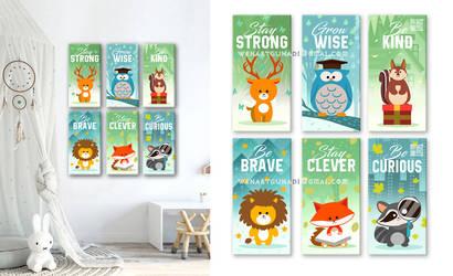wall decoration illustration