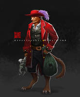 character commision by Wenart