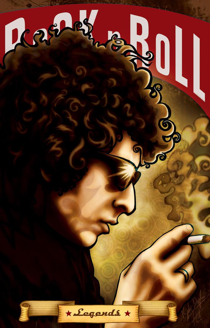 Bob Dylan by Hubner