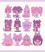 Cute adopts batch #4 set price (closed) by boniru