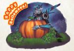 Pumpkin Queen by JediMasterK