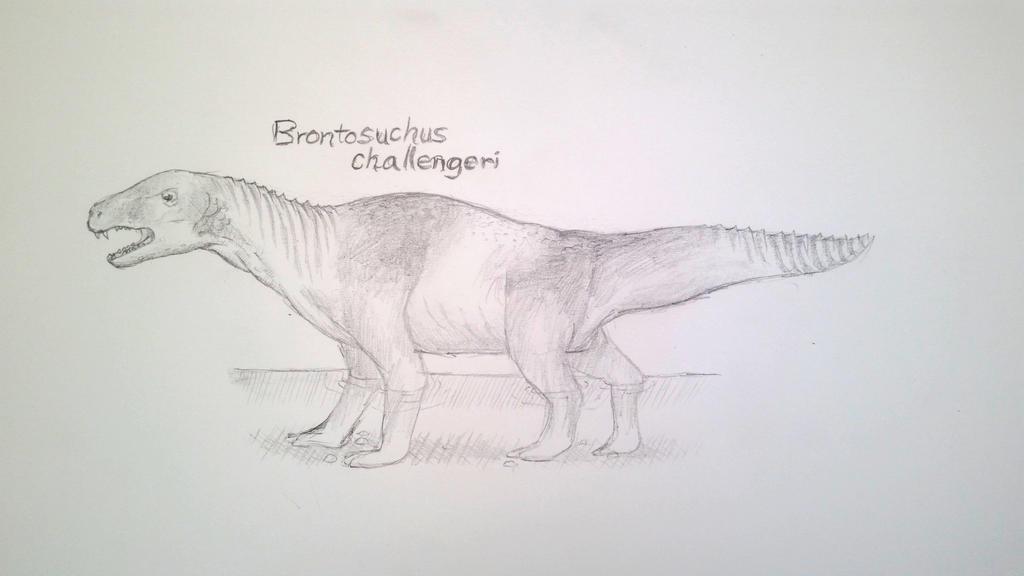 Brontosuchus by Icthoan