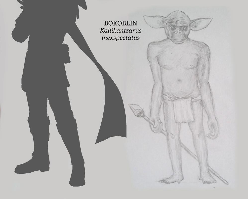 Bokoblin: the Promethean Ape by Icthoan
