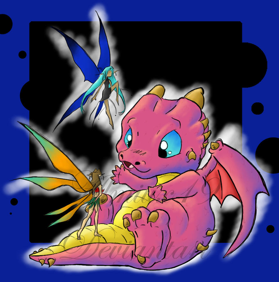 Baby Dragon Remasterized by Almiux19