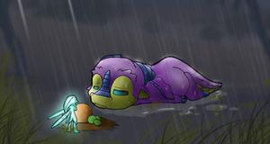 baby dragon lost