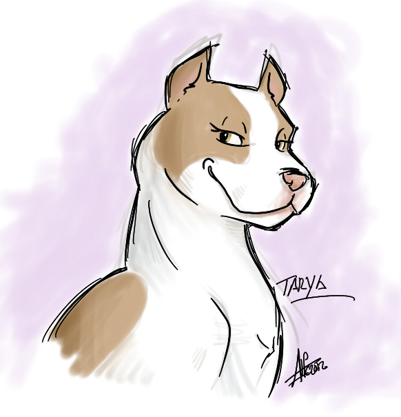 pit bull cartoon by Almiux19 on DeviantArt
