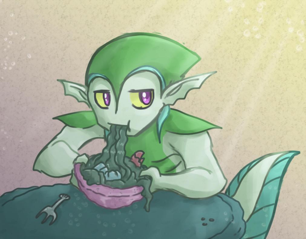 Greehs noodles by Almiux19