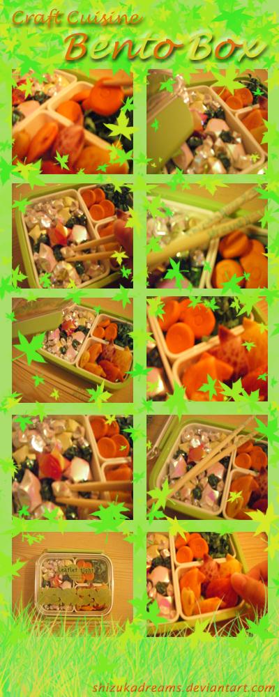 Craft Cuisine- Bento Box by ShizukaDreams