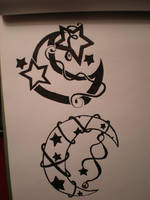 Tattoo Designs One by LunarPriestess