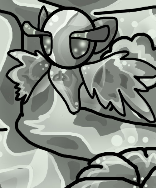 mascot_fanart_humminbird by cartoonfanatics